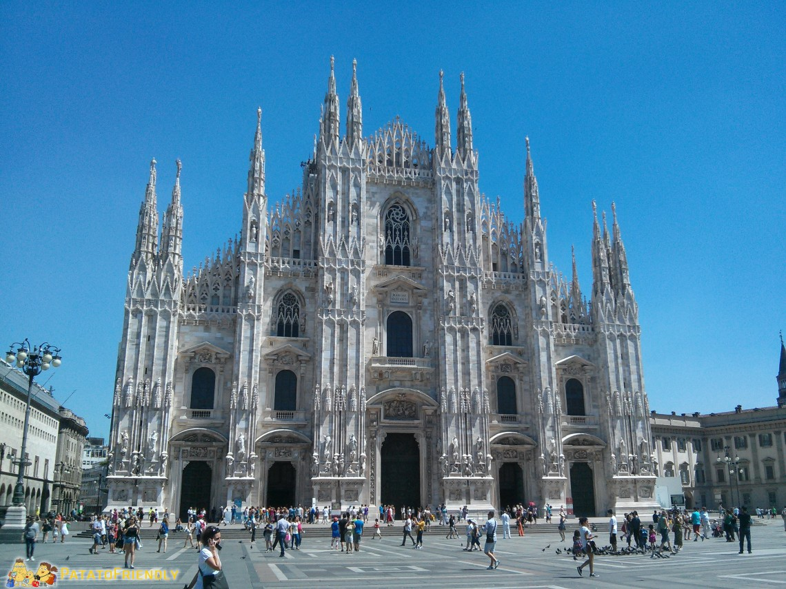 Thins to do in Milan: Duomo Cathedral