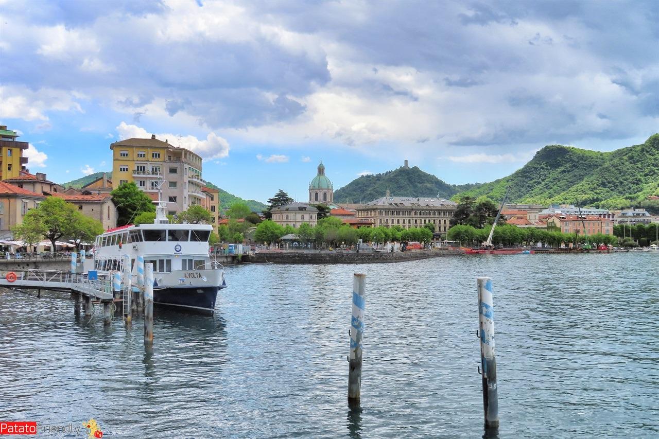 Lago di Como con bambini - Como