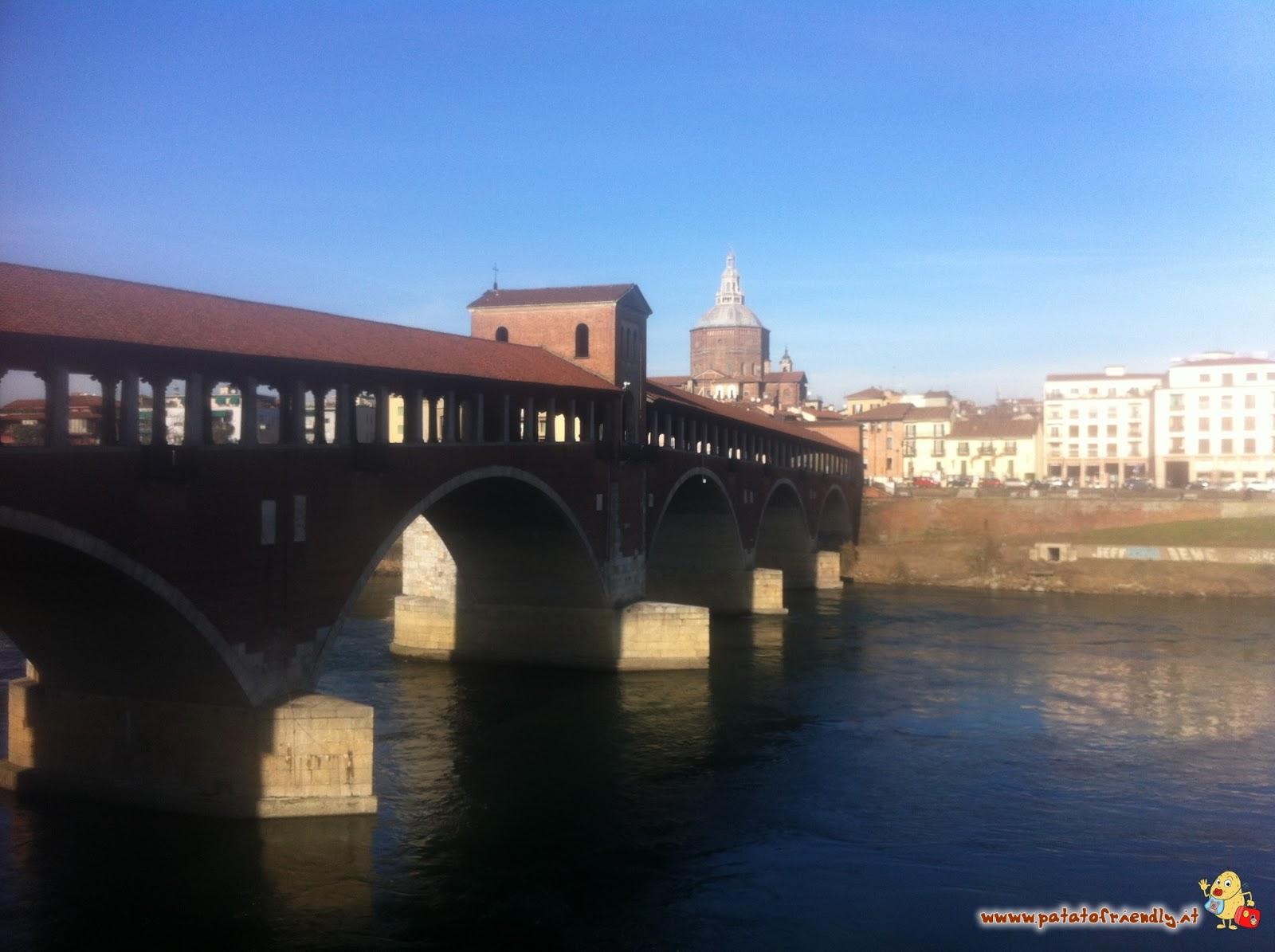 Cosa vedere a Pavia: Il Ponte Vecchio