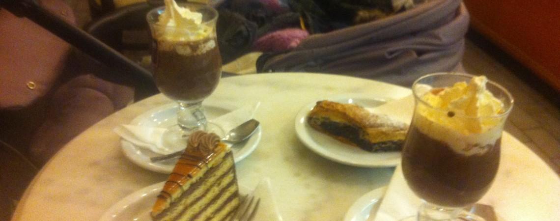 A Budapest con i bambini assaggiando la Torta Dobos