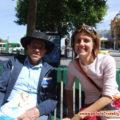 Il vecchio signore di Melbourne in Australia