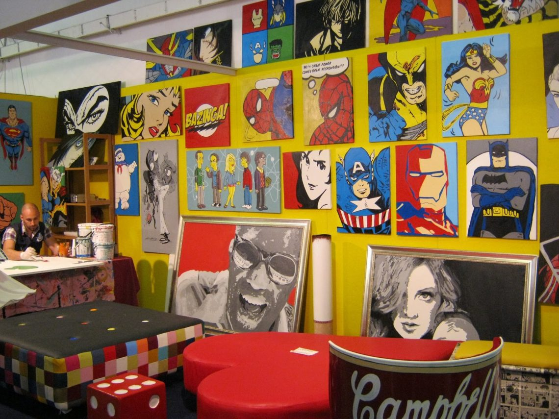 [cml_media_alt id='4210']Il muro dei supereroi al Comicon di Napoli - Credits Carlo[/cml_media_alt]