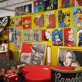 Il muro dei supereroi al Comicon di Napoli - Credits Carlo