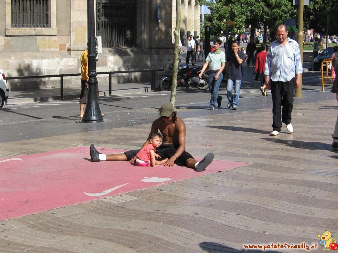 Viaggio a barcellona con breakdance patatofriendly for Viaggio a barcellona