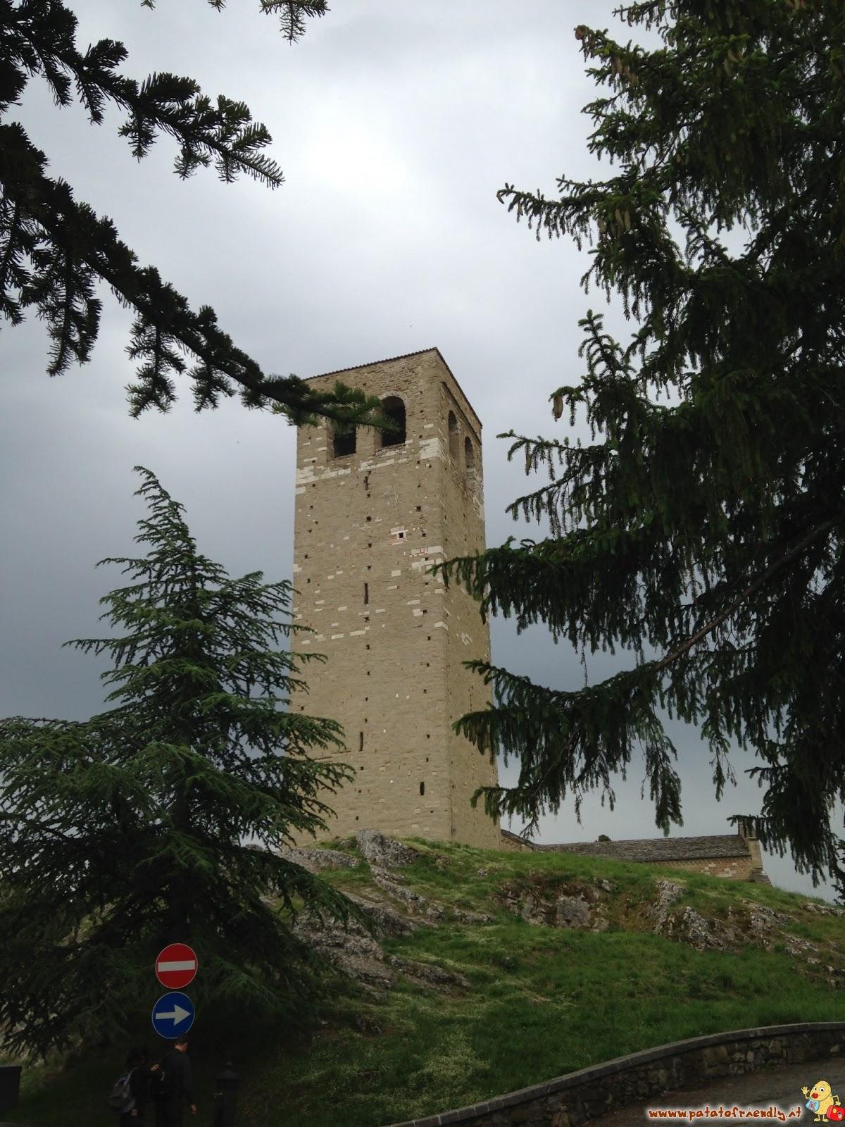 Cosa vedere a San Leo in Romagna La Torre Campanaria