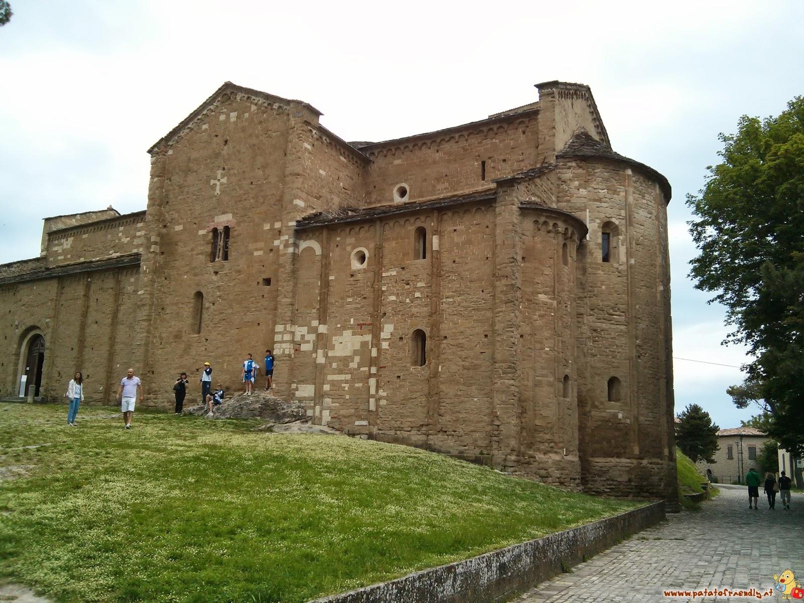 Cosa vedere a San Leo - La Pieve di Santa Maria Assunta a San Leo