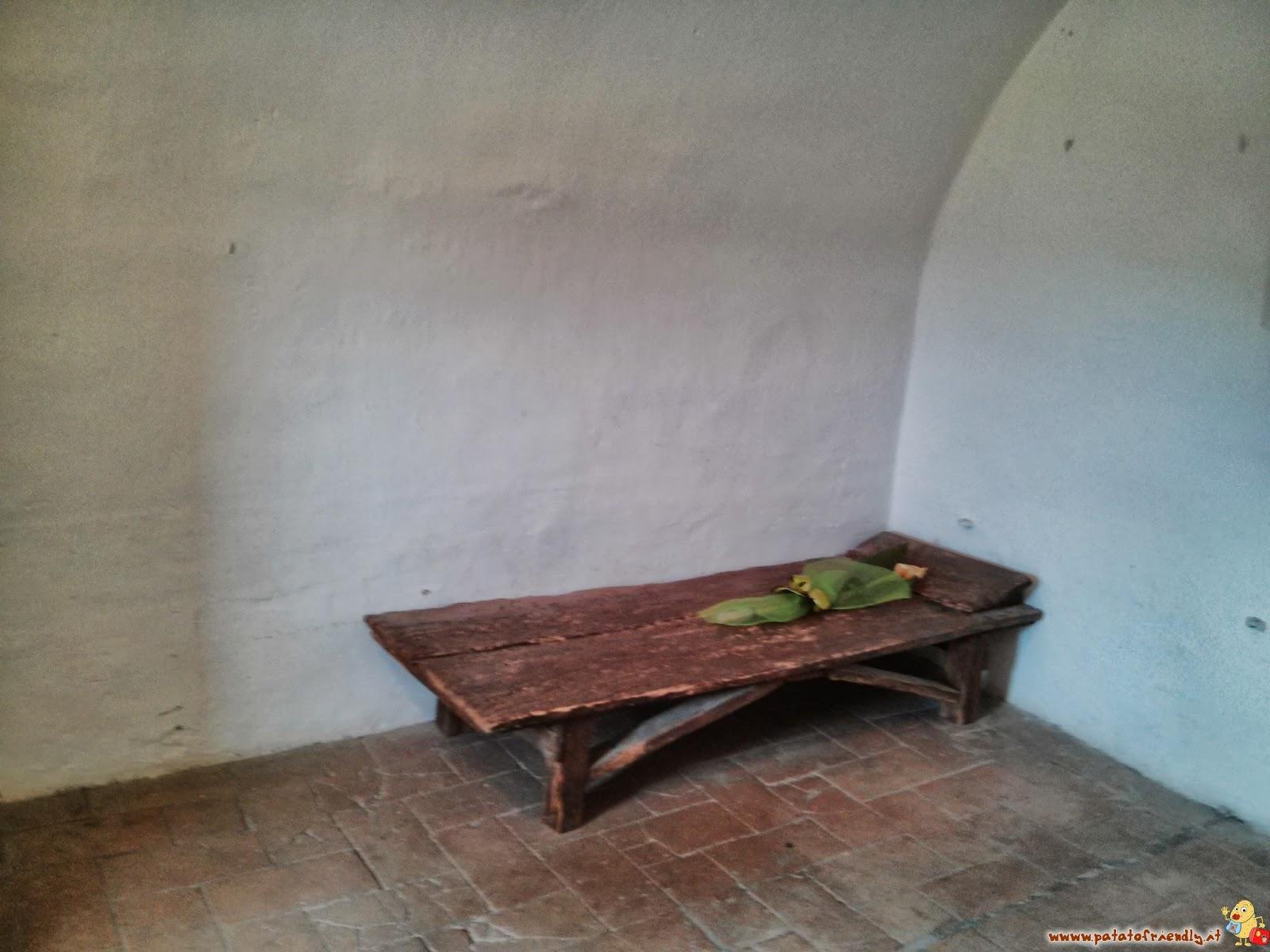 Cosa vedere a San Leo - La Fortezza di San Leo - La cella del Conte di Cagliostro a San Leo
