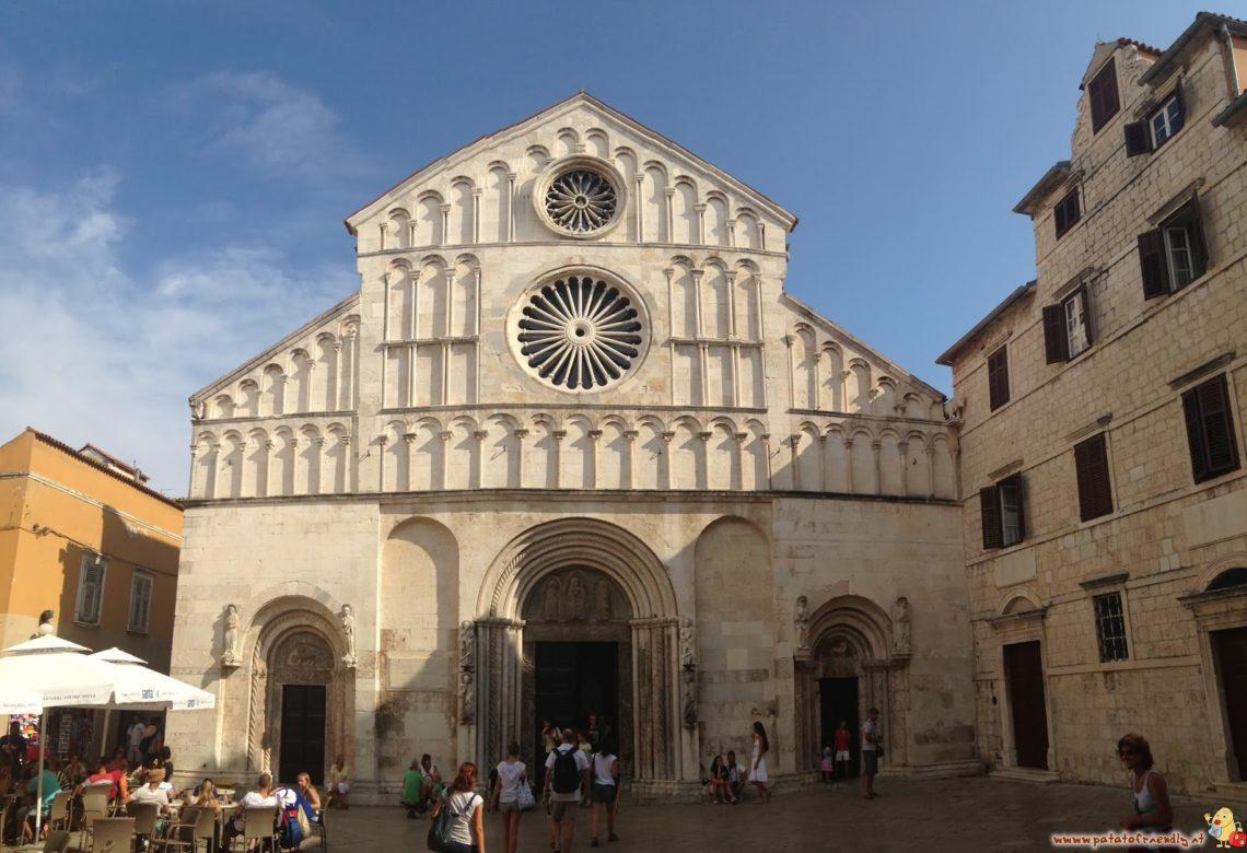 Il centro storico di Zara