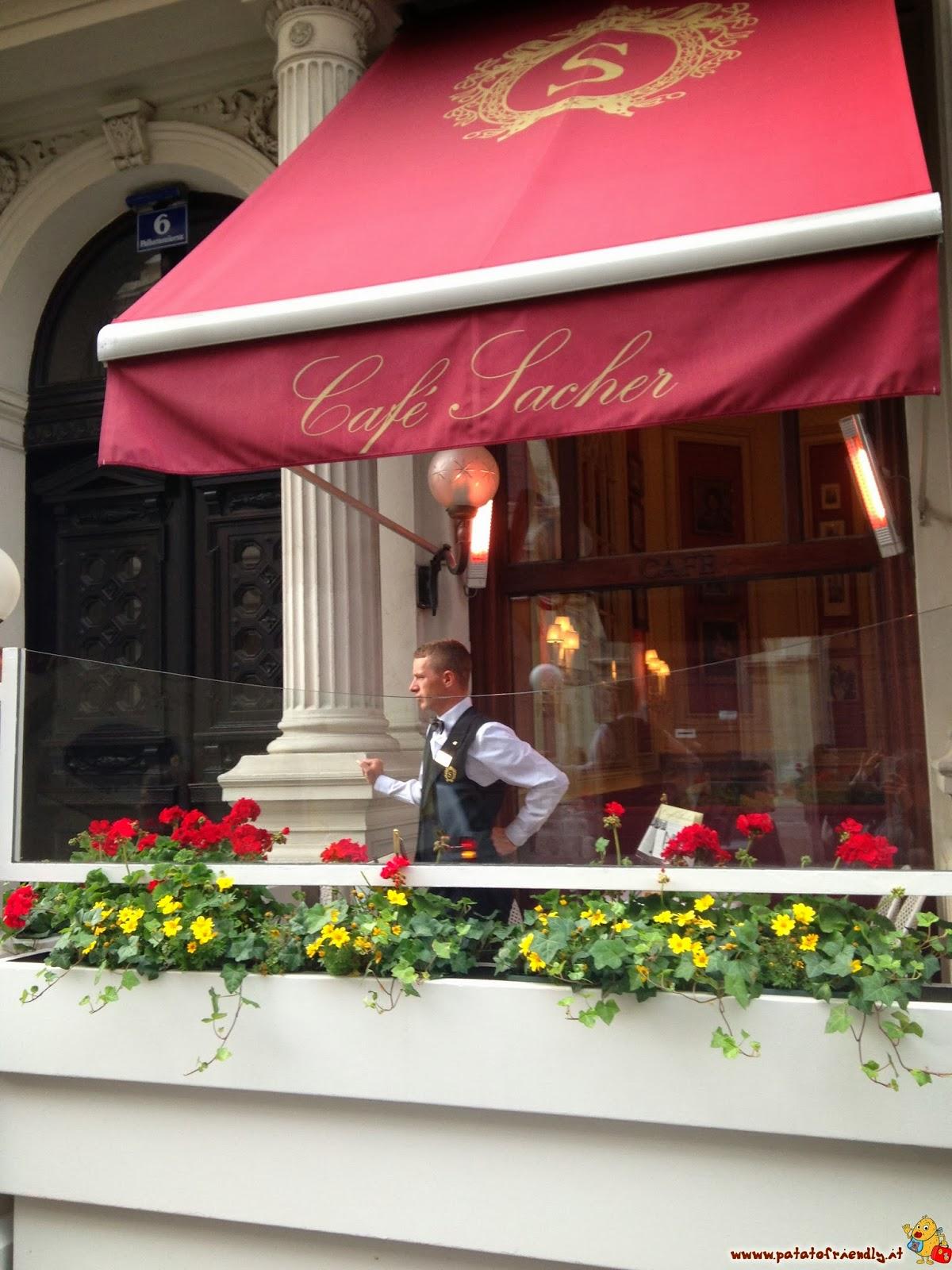Il Caffé Sacher dove andare a mangiare la migliore Sacher Torte di Vienna