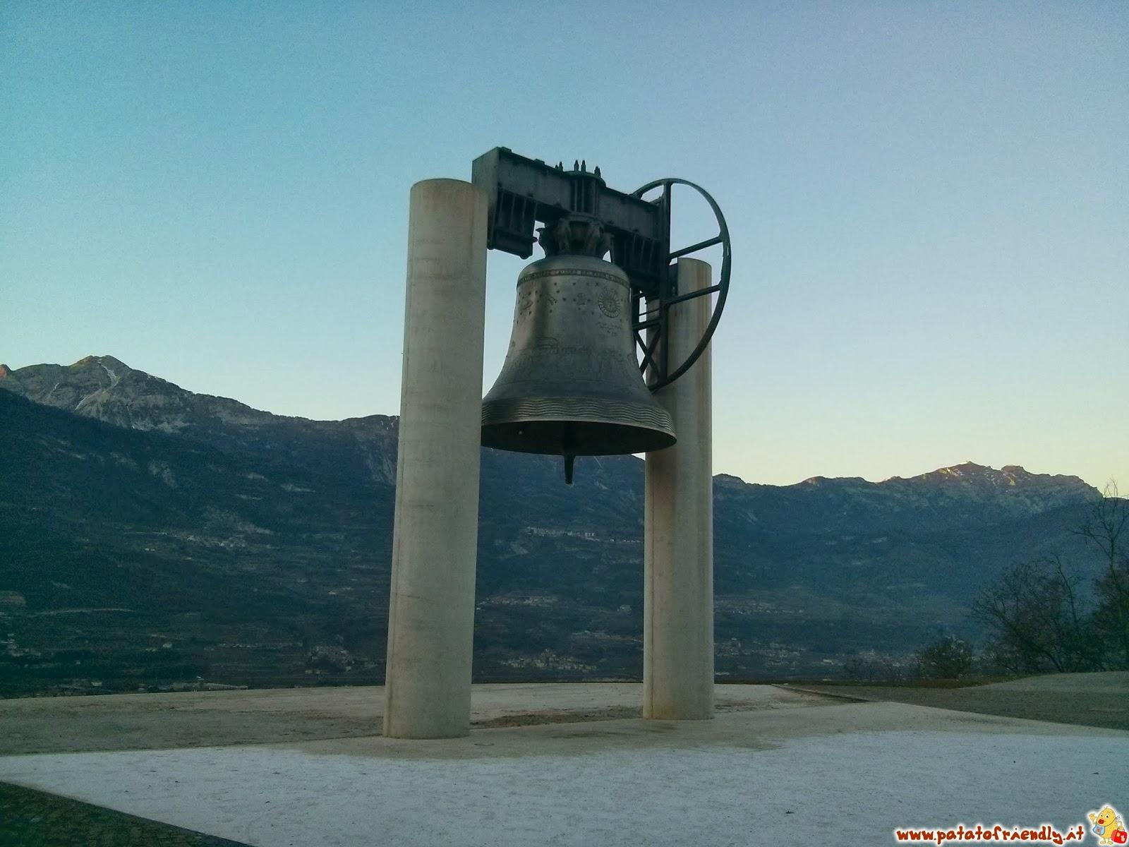 La campana della pace a Rovereto