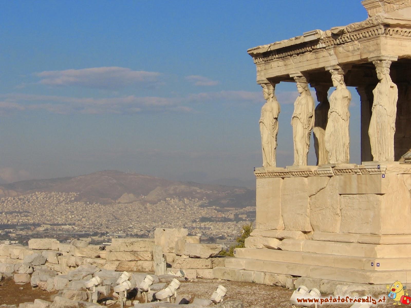 Atene in u giorno - Acropoli
