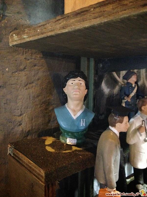 San Gregorio Armeno - L'immancabile Maradona
