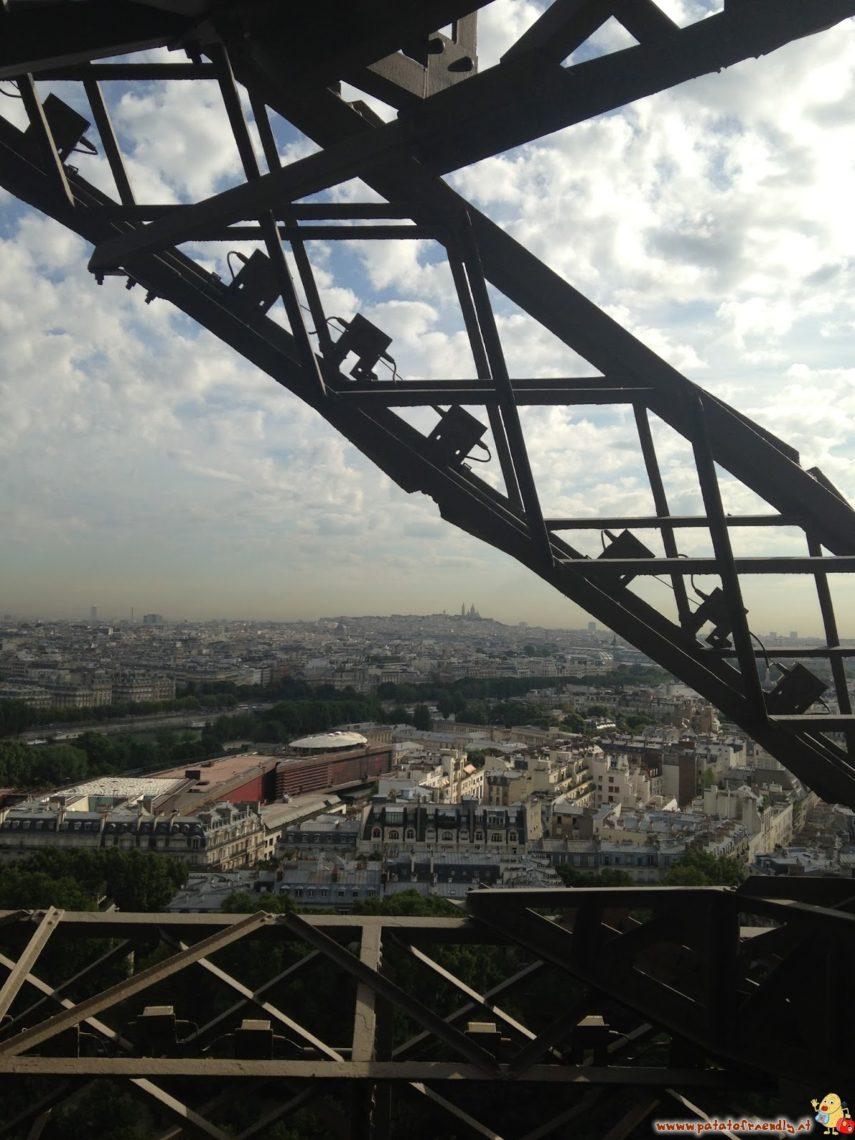 Parigi vista dalla torre