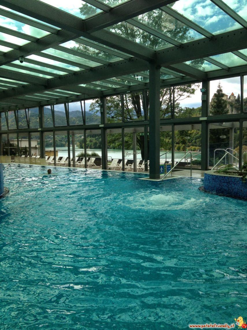 Le terme in Slovenia: Bled e la vista sul castello