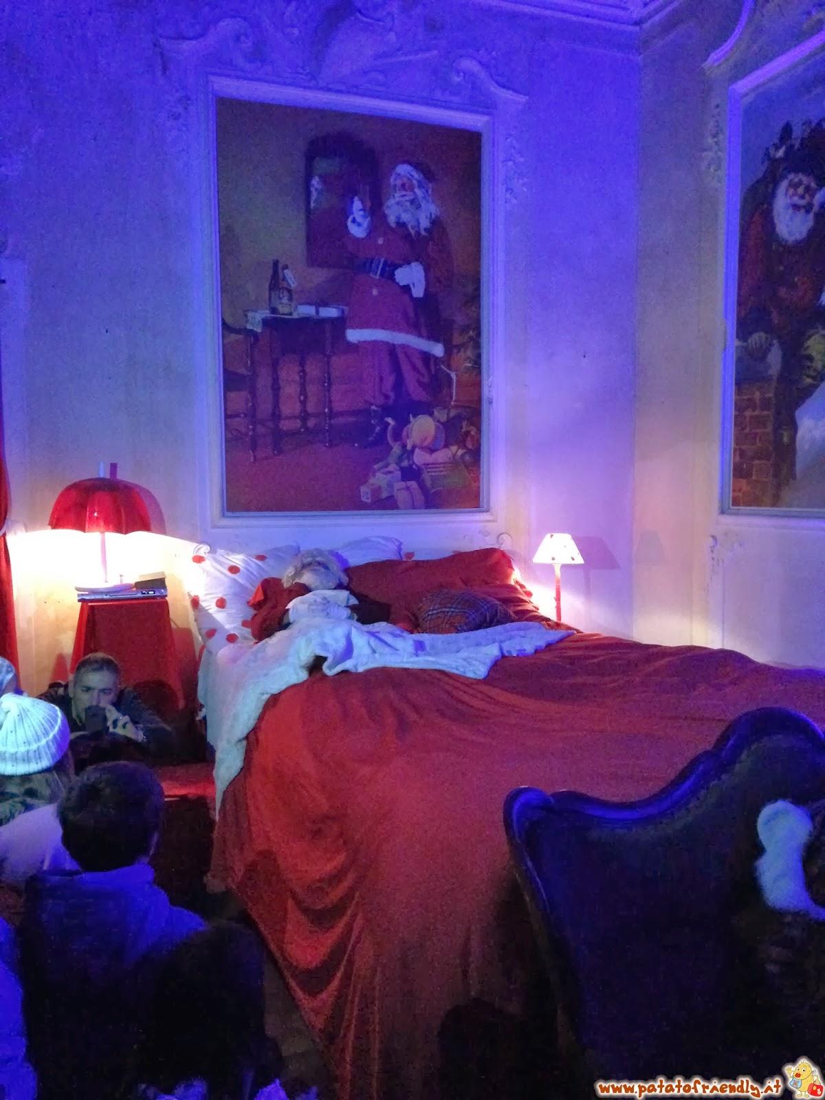 Langhe a Natale - Babbo Natale nella sua casa di Govone