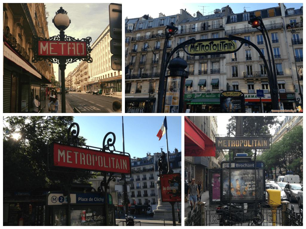 Collage Metro Parigi
