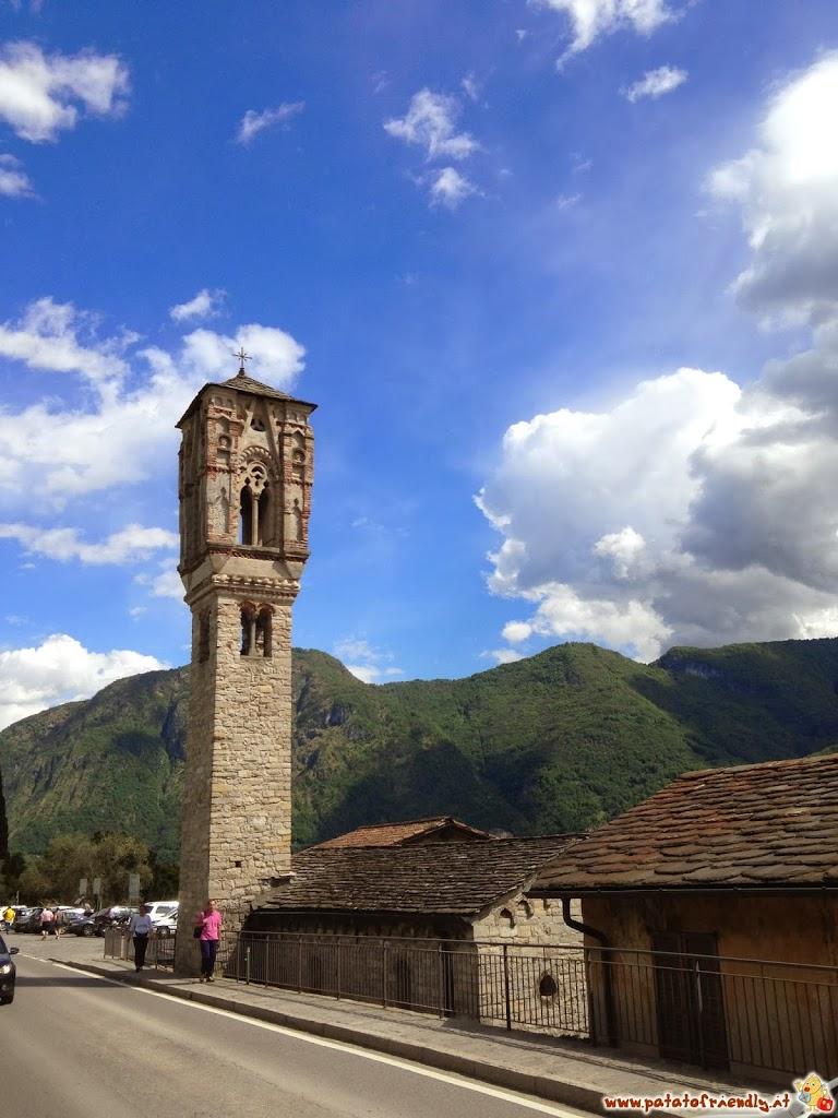 La chiesa di Ossuccio