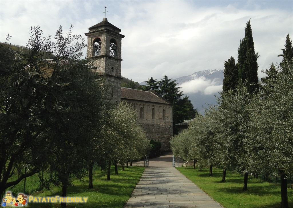L'Abbazia di Piona sul Lago di Como