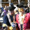Carnival in Venice: masks