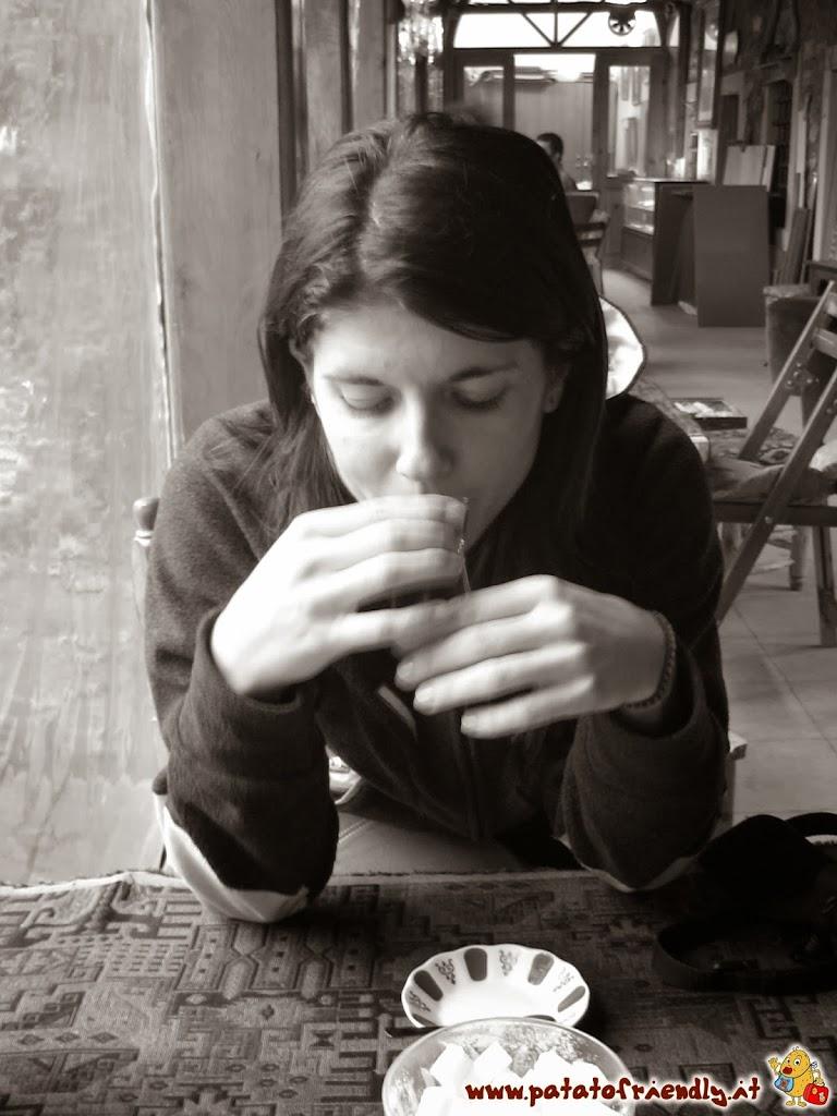 Assaggiare il caffè ad Istanbul