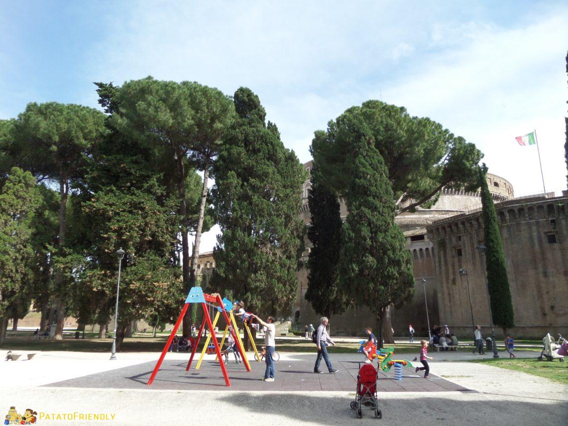 Playground in Rome
