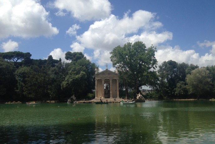 Parks in Rome: Villa Borghese Park