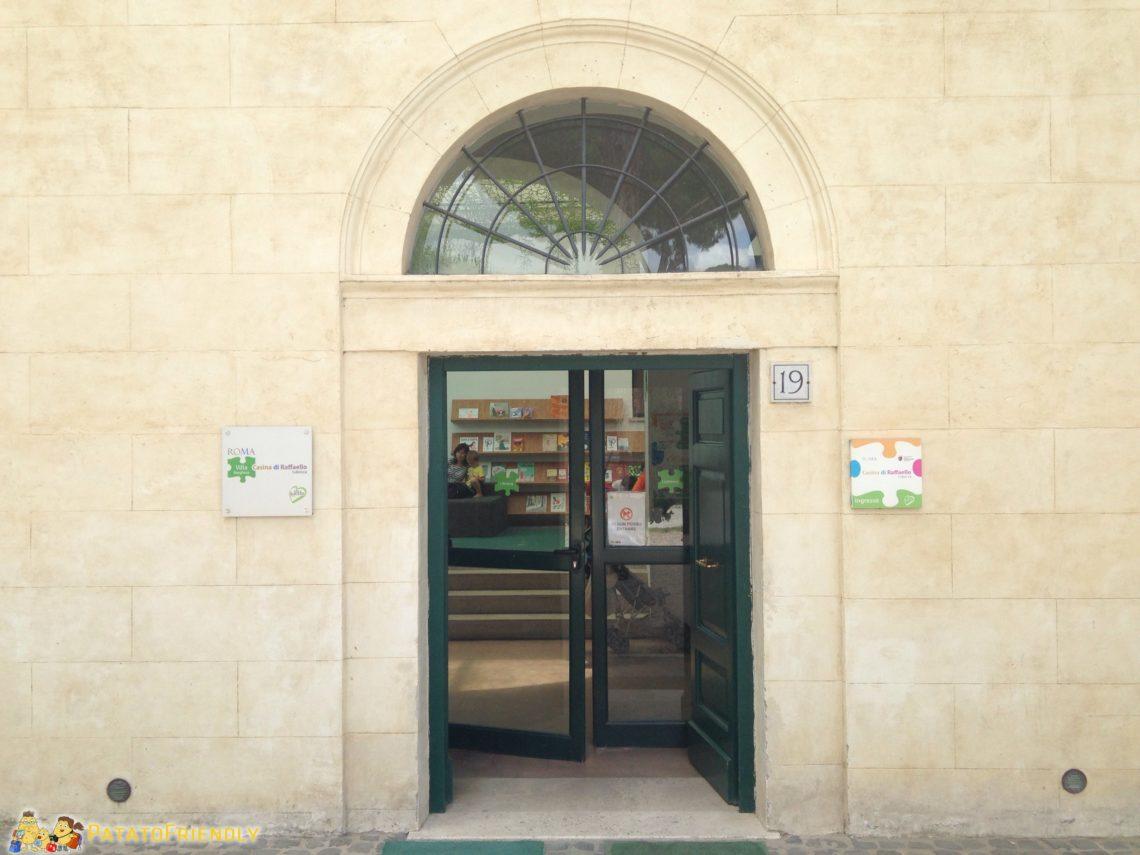 [cml_media_alt id='3169']L'ingresso della Casina di Raffaello a Villa Borghese - Roma[/cml_media_alt]