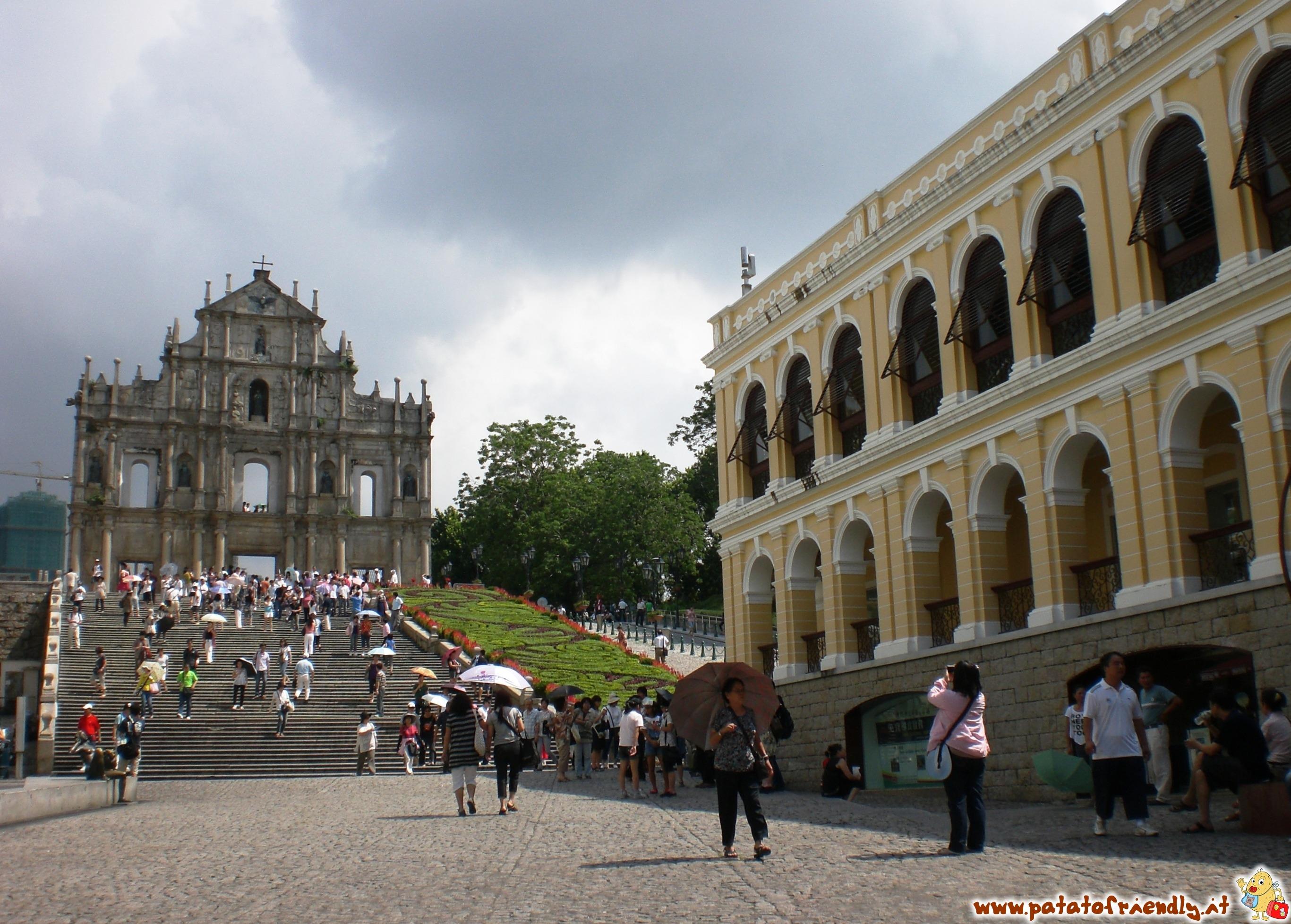 Macao - un pezzo di Portogallo in terra cinese