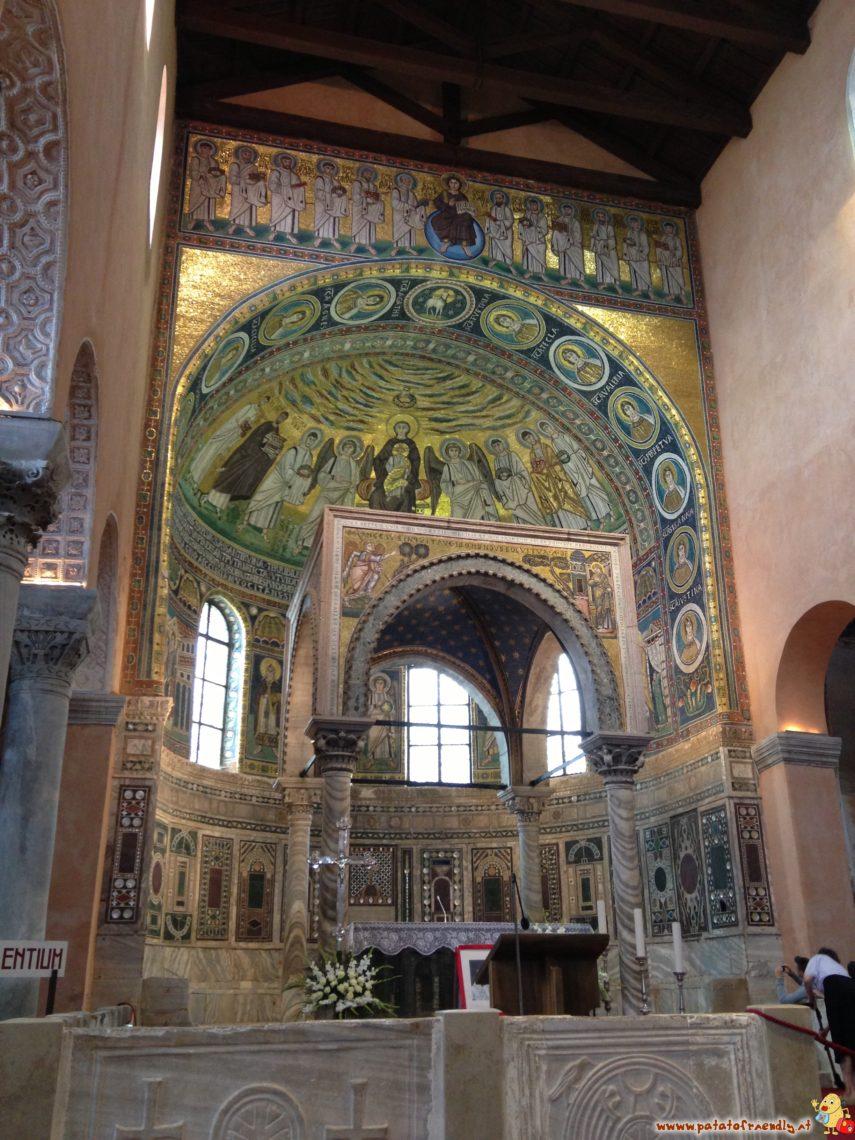Gli splendidi mosaici della cattedrale di Sant'Eufrasio a Porec