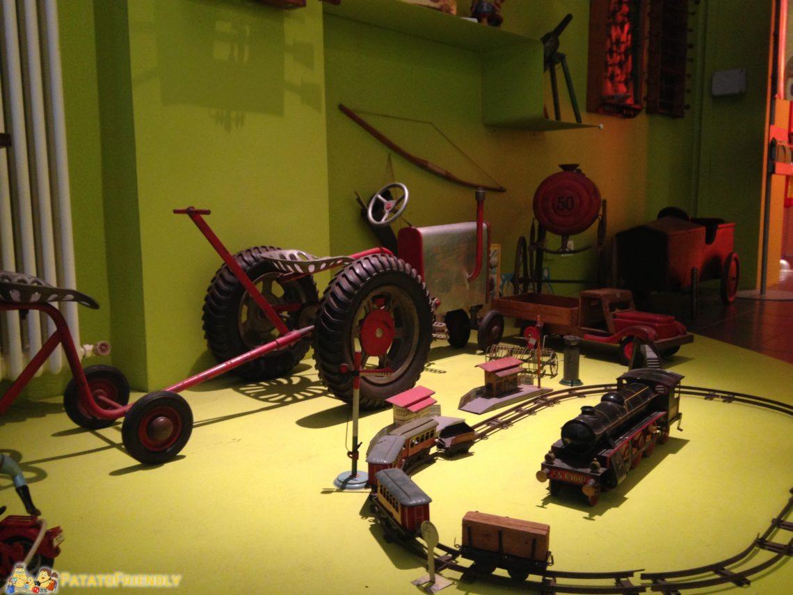 Trenini e trattori al Museo del Giocattolo
