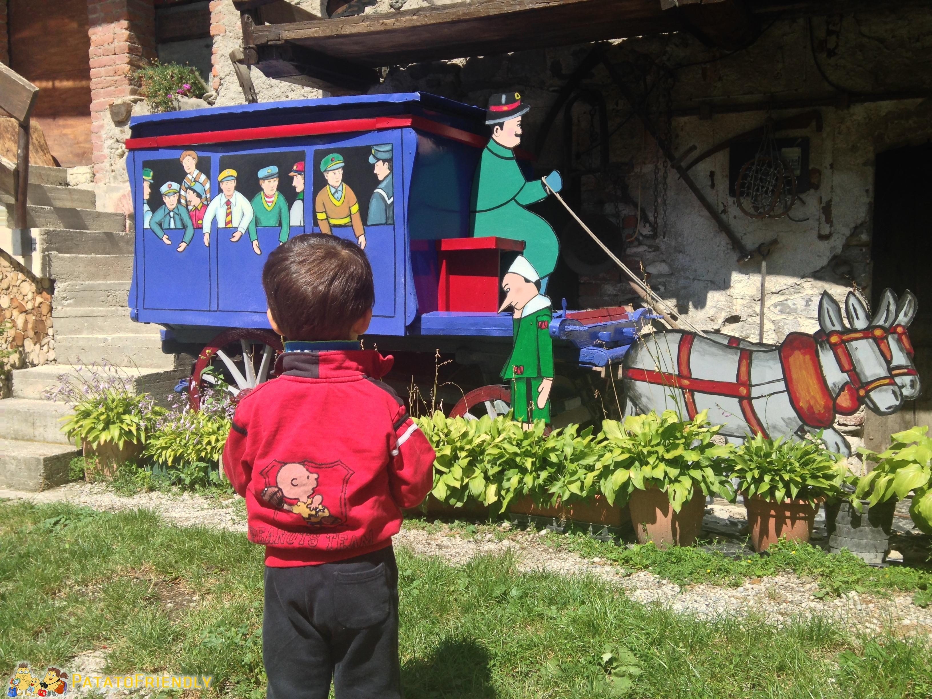 Il Patato incontra Pinocchio