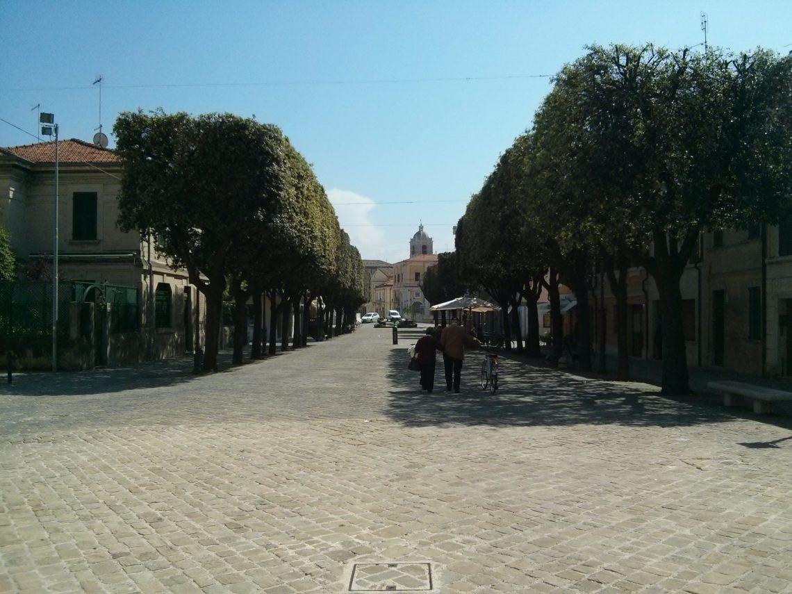 Senigallia - l'ingresso al centro storico
