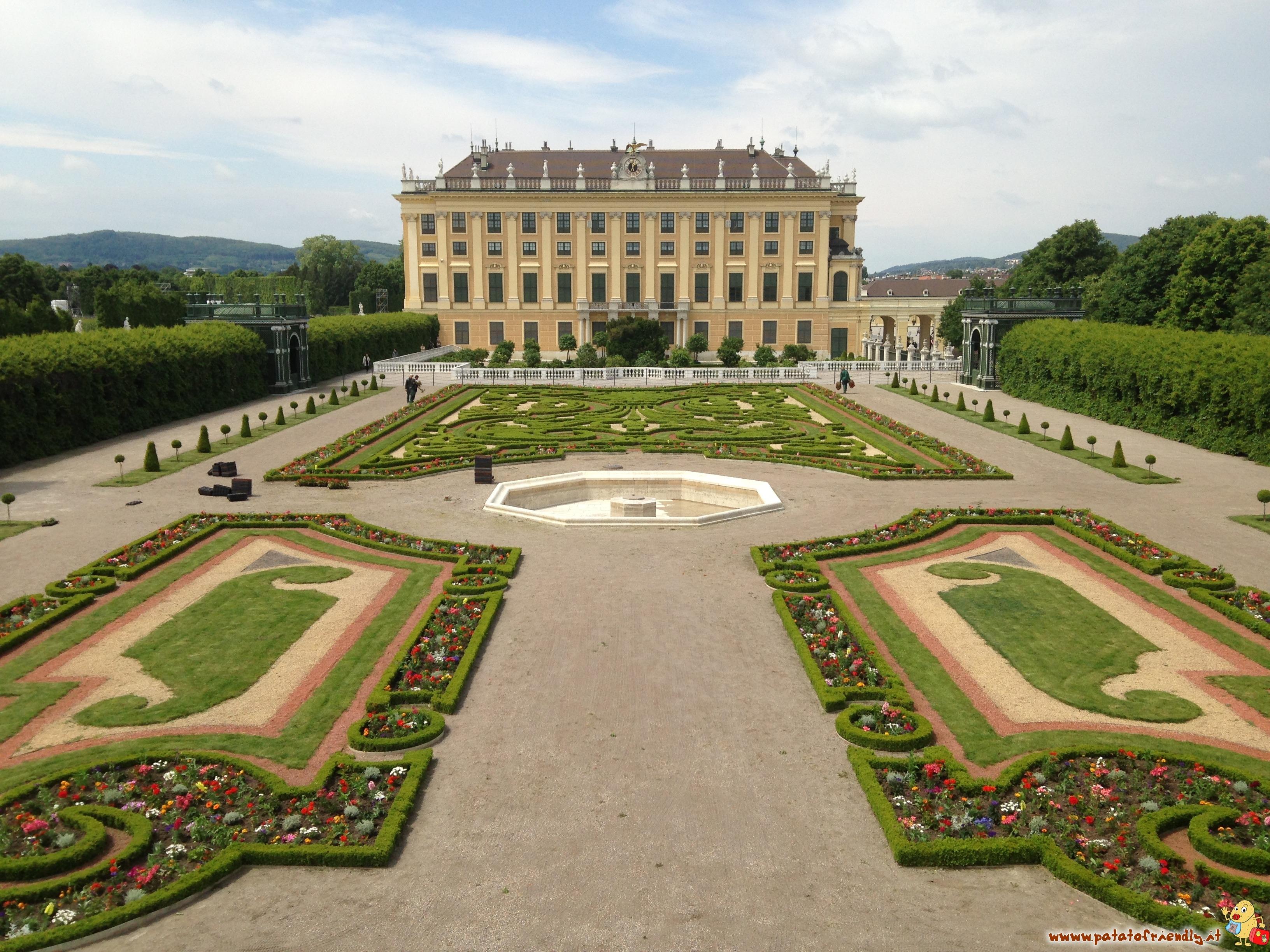 Lo Schloss Schönbrunn a Vienna