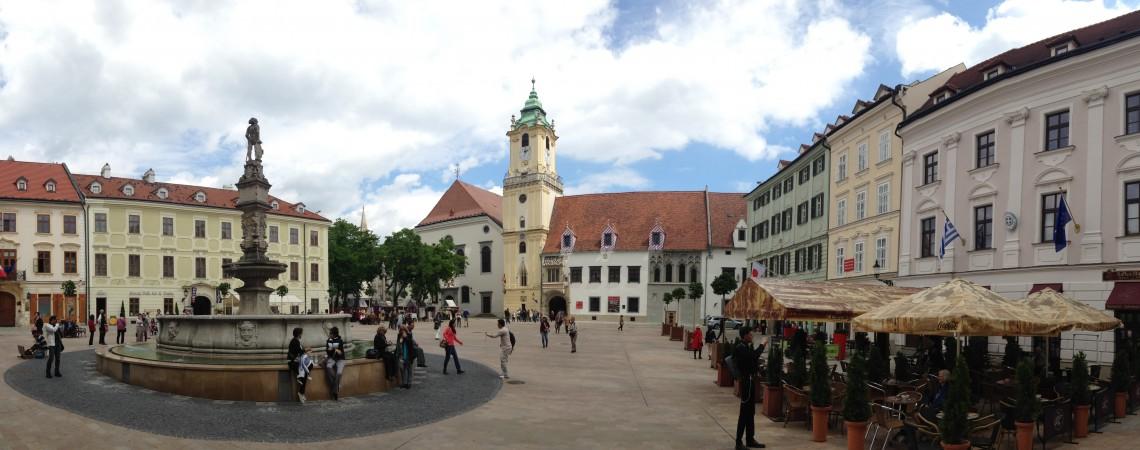 Il centro storico di Bratislava