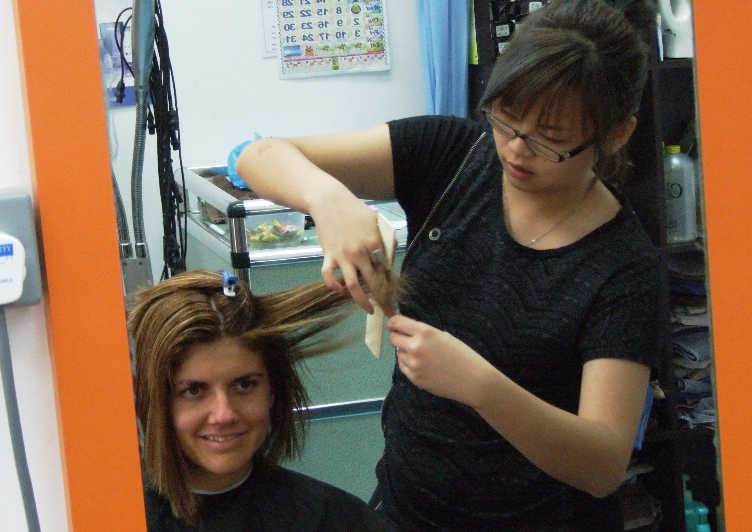 Il taglio di capelli a Singapore