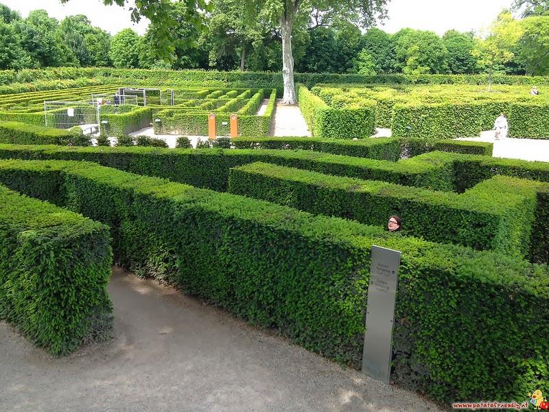 Vienna con bambini il Labirinto del Castello