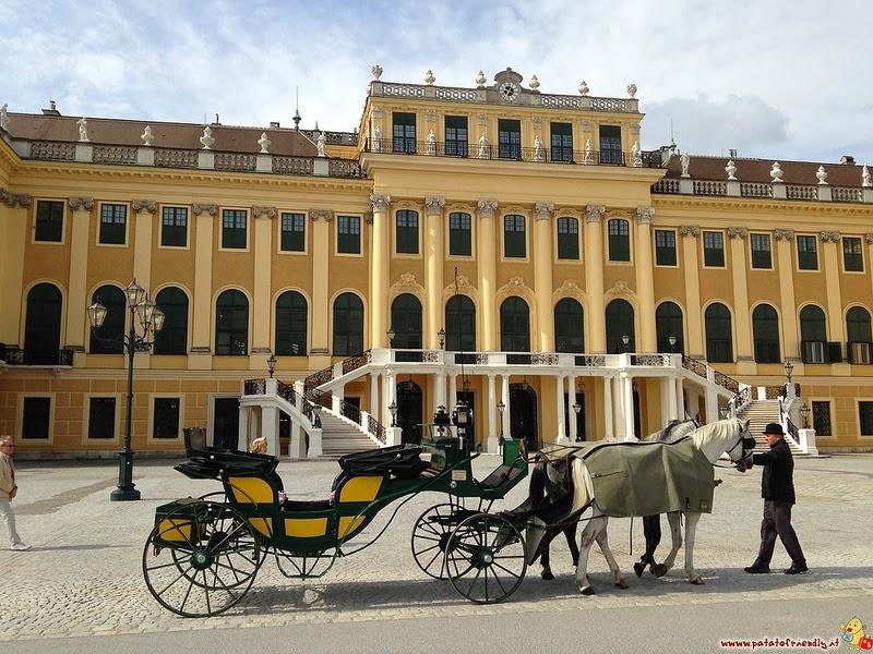 Cosa fare a Vienna con bambini le carrozze al castello