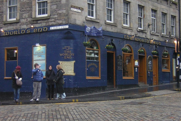 The World's end - Edimburgo - Credits Maggie