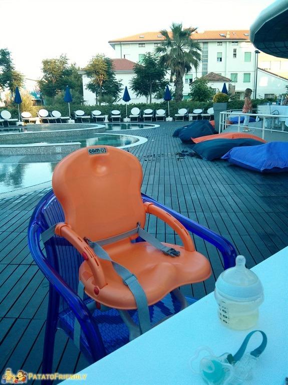 Family Hotel - Seggioloni e facilities per i bambini