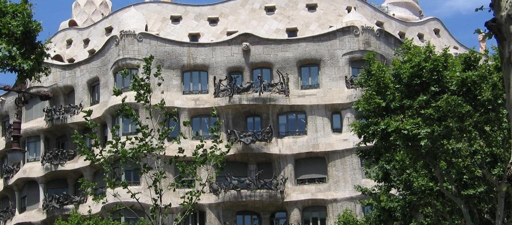 Barcellona con i bambini - Casa Milà - La Pedrera