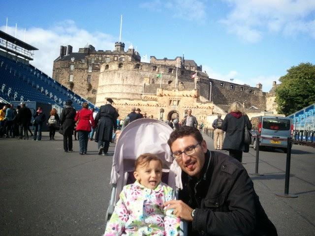 Edimburgo con i bambini - Il Castello - Credits Filo