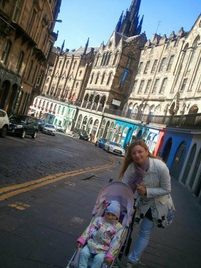 Edimburgo con i bambini - VictoriaStreet - Credits Filo