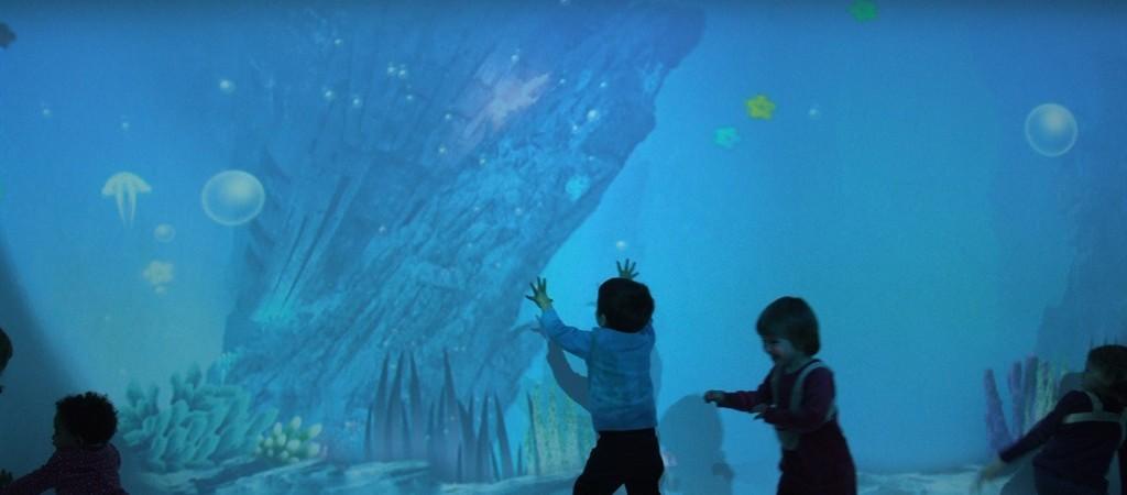 La bolla marina del Maxi Ooh al MUSE di Trento