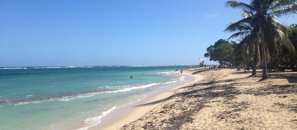 Le meravigliose spiagge bianche della Guadelupe