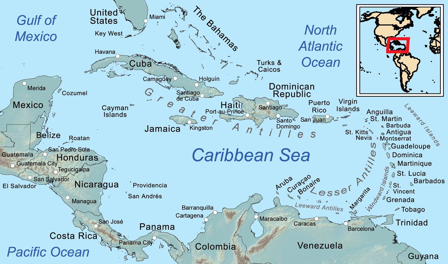 [cml_media_alt id='5053']Mappa dei Caraibi - Credits Kmusser[/cml_media_alt]