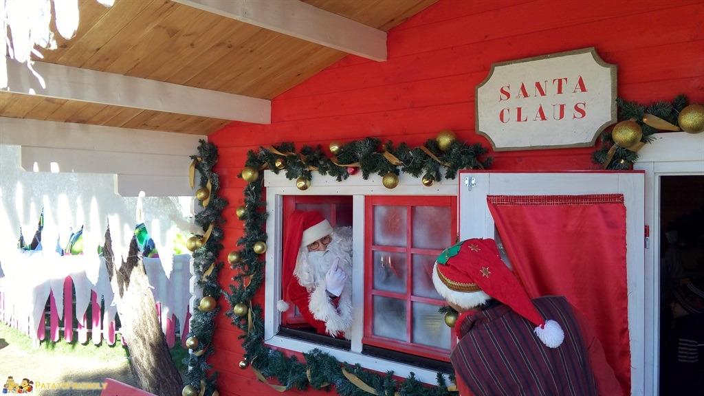 Santa Claus Village cesenatico - Babbo Natale in attesa delle visite dei Bambini