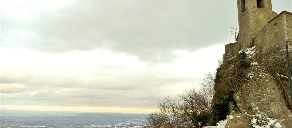 Veduta della Torre Guaita di San Marino
