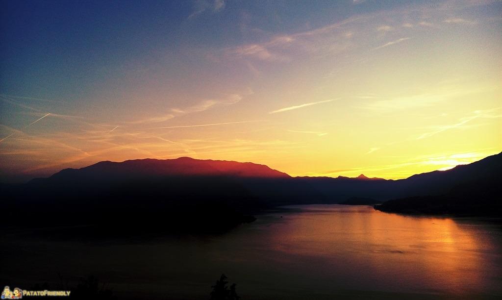 Cosa vedere a Varenna - Il magnifico tramonto dal Castello di Vezio
