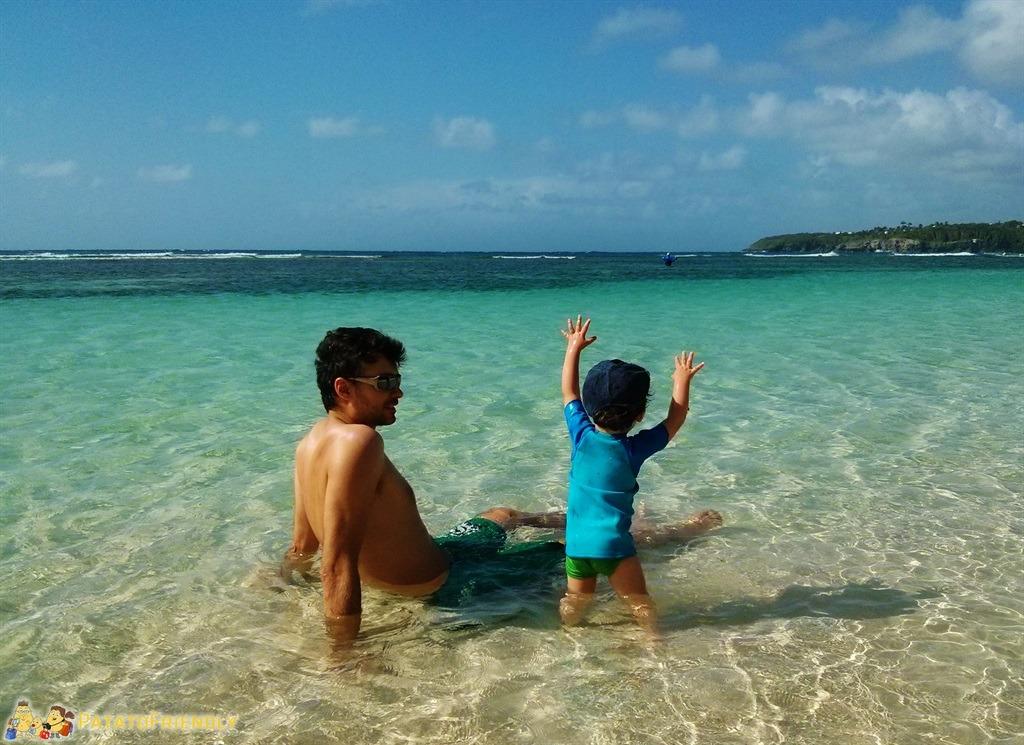 Viaggio con un bimbo in Guadalupe