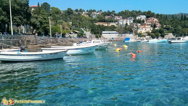 [cml_media_alt id='5429']Croazia con i bambini - Volosko - Il piccolo porto turistico[/cml_media_alt]